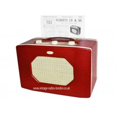 VINTAGE 1950's ROBERTS 'BR'  LW/MW BATTERY RADIO - 11.01.2020 SOLD