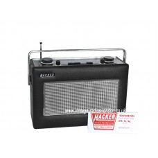 HACKER SOVEREIGN II RP25 AM/FM TRANSISTOR RADIO - 18042021 SOLD
