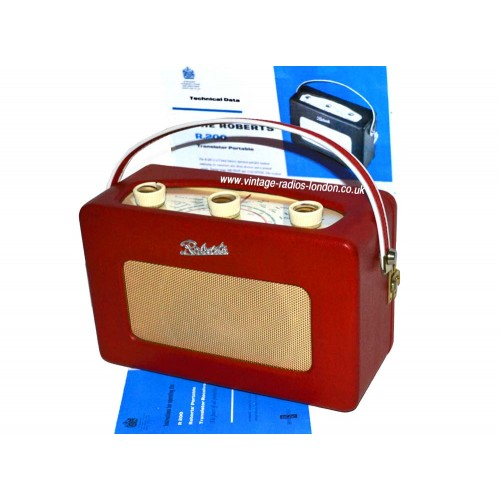 1960 U0026 39 S Roberts R200 Early Version Transistor Radio