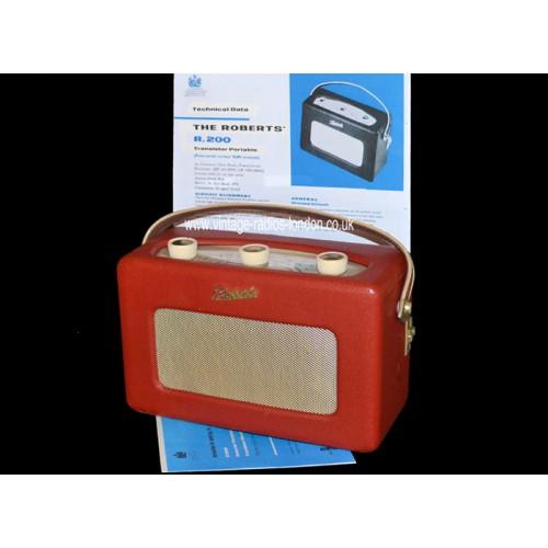1960 U0026 39 S Roberts R200 Transistor Radio