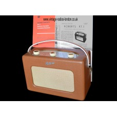 1950's ROBERTS RT1 TRANSISTOR RADIO - 16.02.2020 SOLD