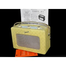 1950's Roberts RT1 'Champagne' - Transistor Radio - 07.09.2017 SOLD